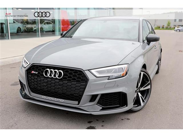 2018 Audi RS 3 2.5T (Stk: AR0100) in Kitchener - Image 1 of 10