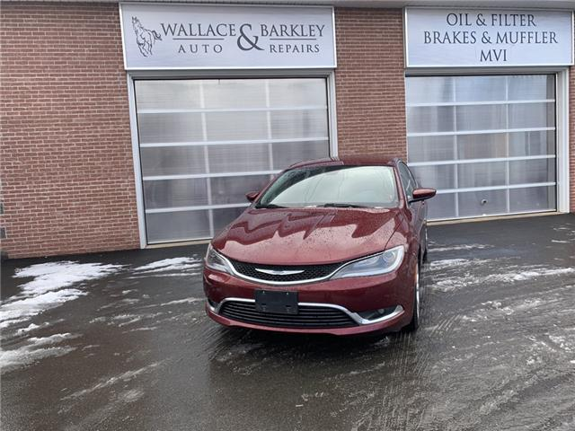 2016 Chrysler 200 Limited (Stk: 103355) in Truro - Image 1 of 12