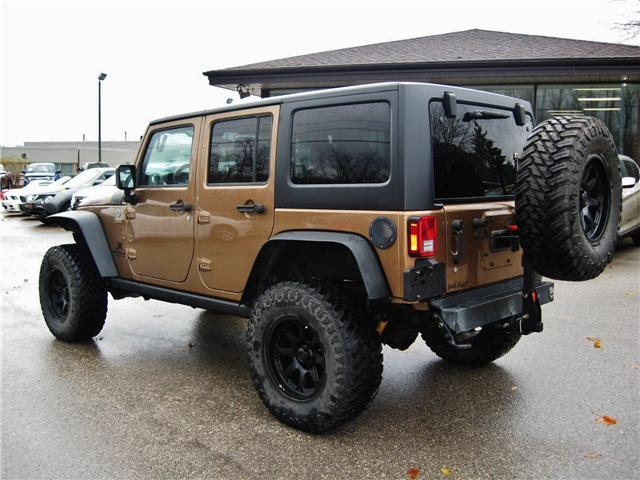 2015 Jeep Wrangler Unlimited Rubicon (Stk: 1414A) in Orangeville - Image 4 of 18