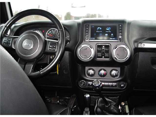 2015 Jeep Wrangler Unlimited Rubicon (Stk: 1414A) in Orangeville - Image 14 of 18
