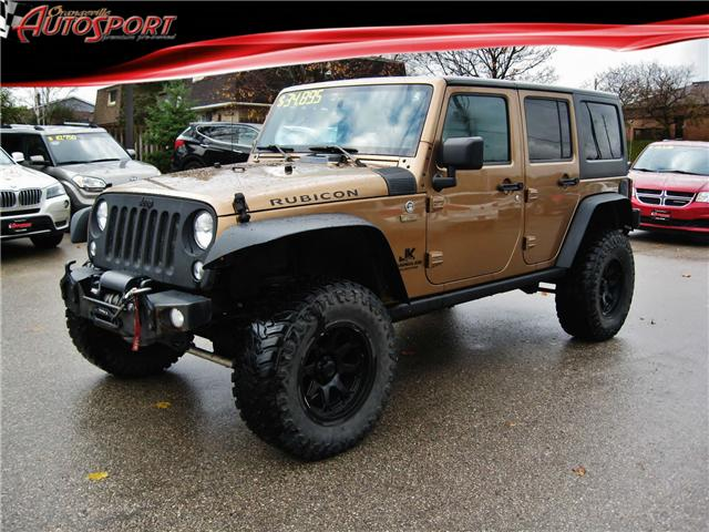 2015 Jeep Wrangler Unlimited Rubicon (Stk: 1414A) in Orangeville - Image 1 of 18