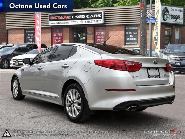 2014 Kia Optima EX (Stk: ) in Scarborough - Image 4 of 25