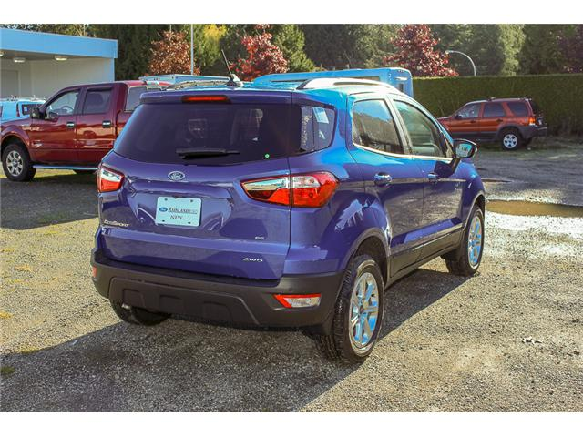 2018 Ford EcoSport SE (Stk: 8EC6670) in Surrey - Image 7 of 26
