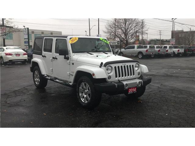 2014 Jeep Wrangler Unlimited Sahara (Stk: 181312A) in Windsor - Image 2 of 11