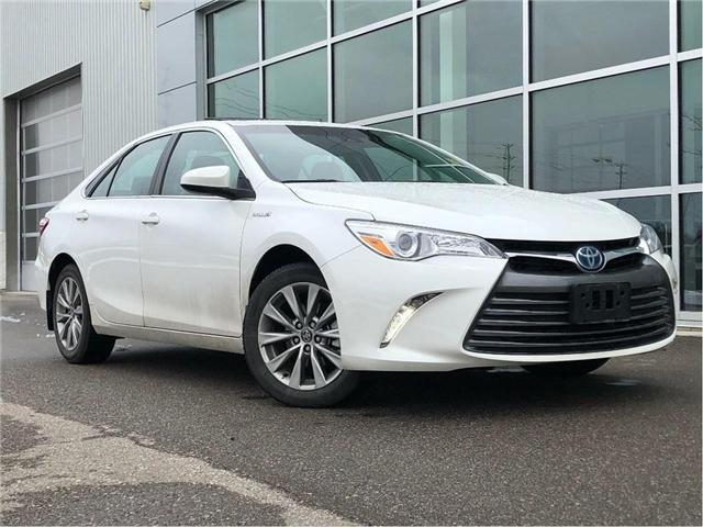 2017 Toyota Camry Hybrid XLE!! JUST TRADED IN !! (Stk: M180428A) in Mississauga - Image 1 of 18