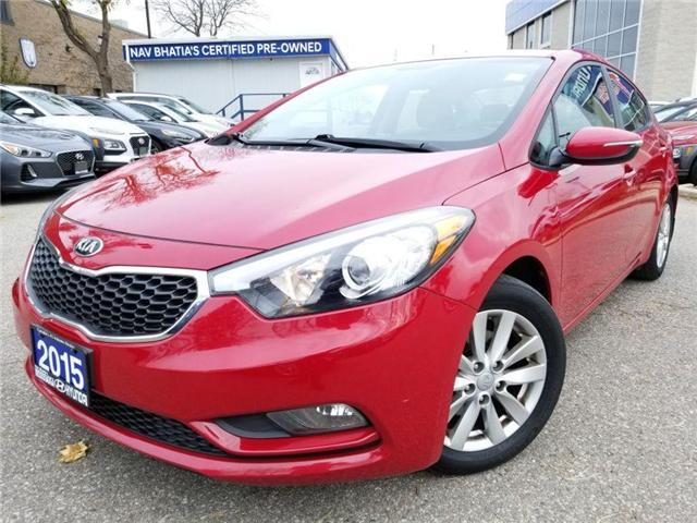 2015 Kia Forte LX-Alloy rims in great condition (Stk: 38717a) in Mississauga - Image 1 of 17