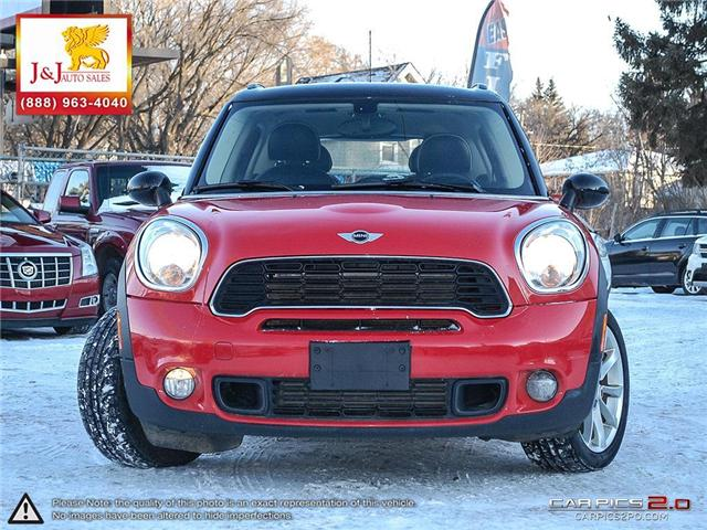 2012 MINI Cooper S Countryman Base (Stk: J18107) in Brandon - Image 2 of 27