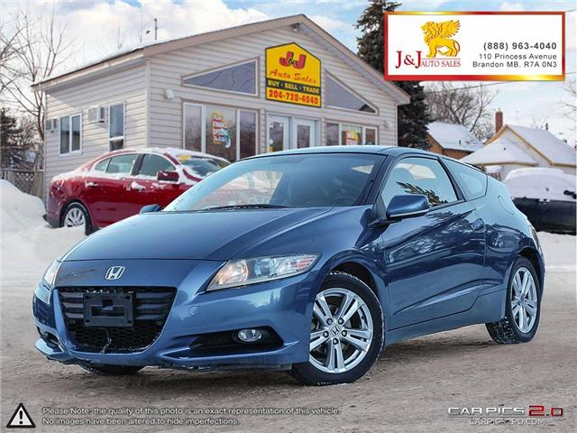 2011 Honda CR-Z Base (Stk: J17050-2) in Brandon - Image 1 of 25