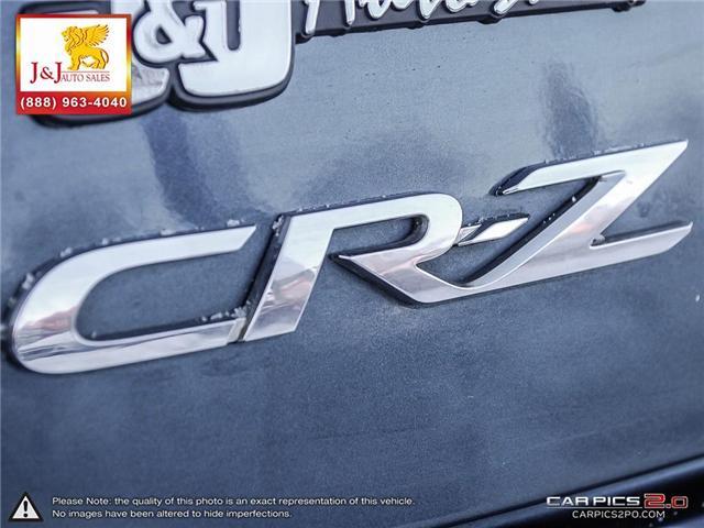 2011 Honda CR-Z Base (Stk: J17050-2) in Brandon - Image 25 of 25