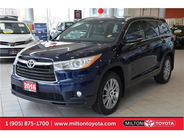 2016 Toyota Highlander  (Stk: 226862) in Milton - Image 1 of 44