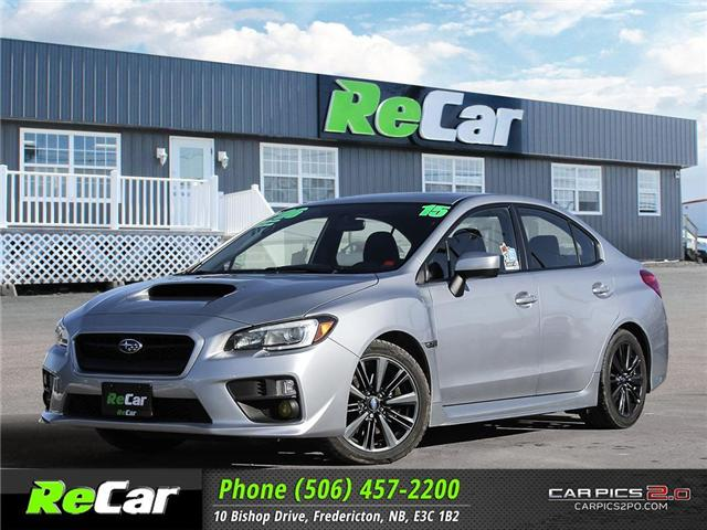 2015 Subaru WRX Sport Package (Stk: 181135A) in Fredericton - Image 1 of 27