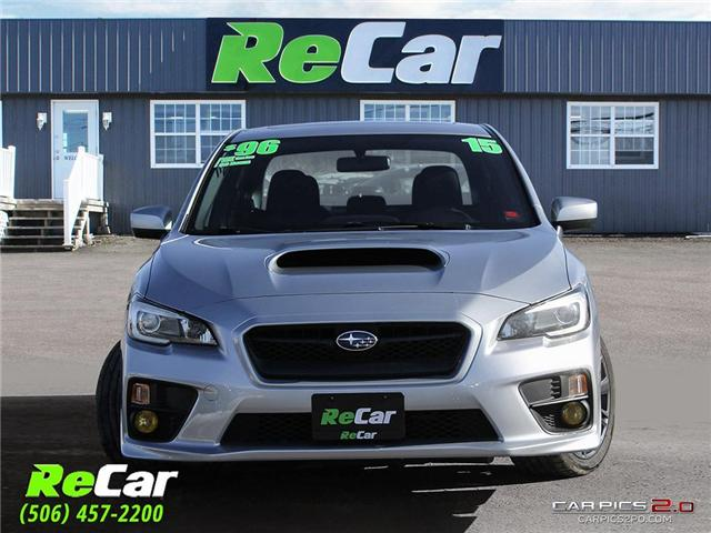2015 Subaru WRX Sport Package (Stk: 181135A) in Fredericton - Image 2 of 27