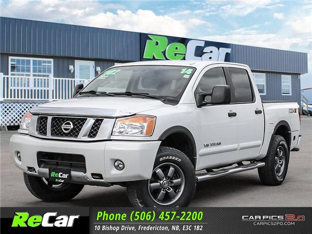 2014 Nissan Titan PRO-4X (Stk: 181139A) in Fredericton - Image 1 of 24
