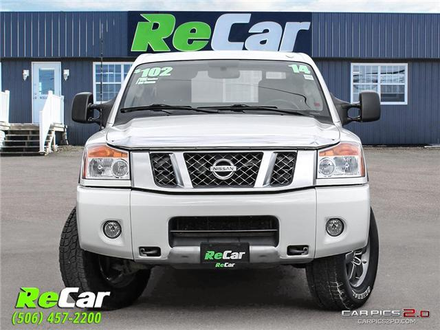 2014 Nissan Titan PRO-4X (Stk: 181139A) in Fredericton - Image 2 of 24