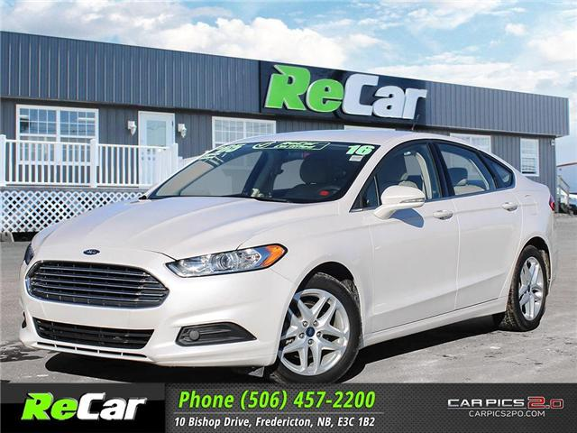 2016 Ford Fusion SE (Stk: 181122A) in Fredericton - Image 1 of 26