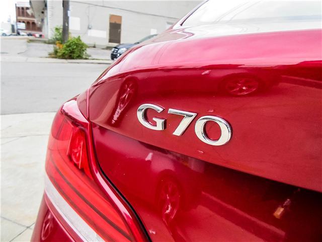 2019 Genesis G70 3.3T Dynamic (Stk: U06092) in Toronto - Image 15 of 24