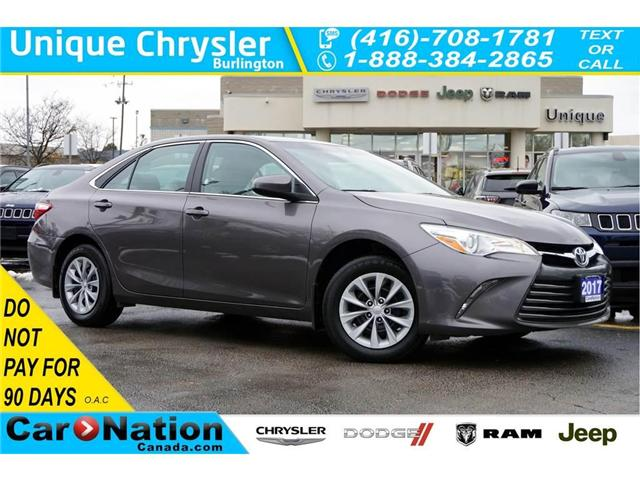 2017 Toyota Camry LE| REAR CAM| BLUETOOTH| SPACIOUS INTERIOR (Stk: DRD1939) in Burlington - Image 1 of 30