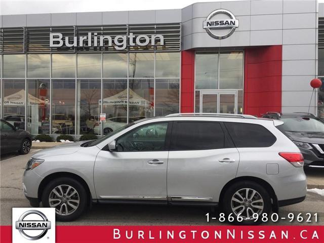 2013 Nissan Pathfinder Platinum (Stk: X2302A) in Burlington - Image 1 of 25