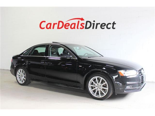 2015 Audi A4  (Stk: 014440) in Vaughan - Image 1 of 30
