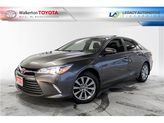 2015 Toyota Camry XLE (Stk: 18520A) in Walkerton - Image 1 of 21