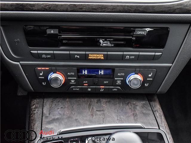 2018 Audi A6 2.0T Technik (Stk: 90385) in Nepean - Image 19 of 25