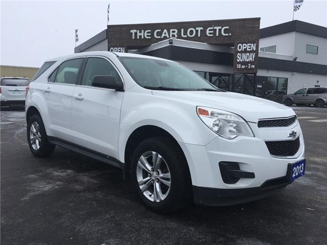 2013 Chevrolet Equinox LS (Stk: 18482) in Sudbury - Image 1 of 13