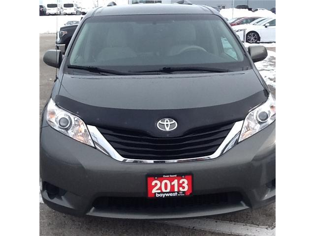 2013 Toyota Sienna LE 8 Passenger (Stk: ) in Owen Sound - Image 2 of 3