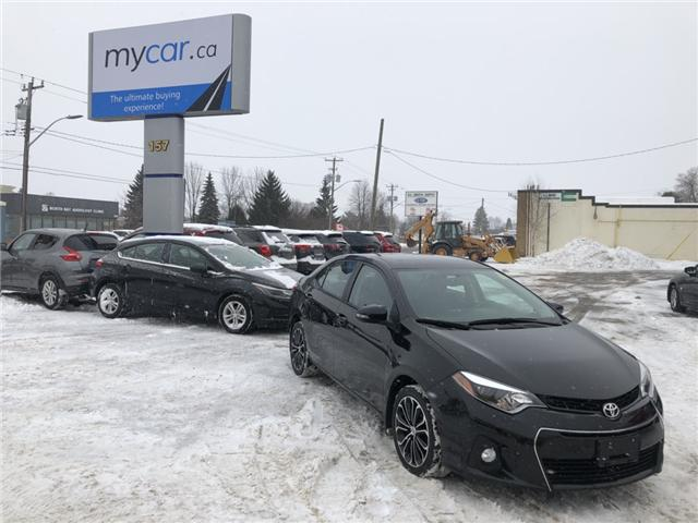 2015 Toyota Corolla S (Stk: 181824) in North Bay - Image 2 of 13