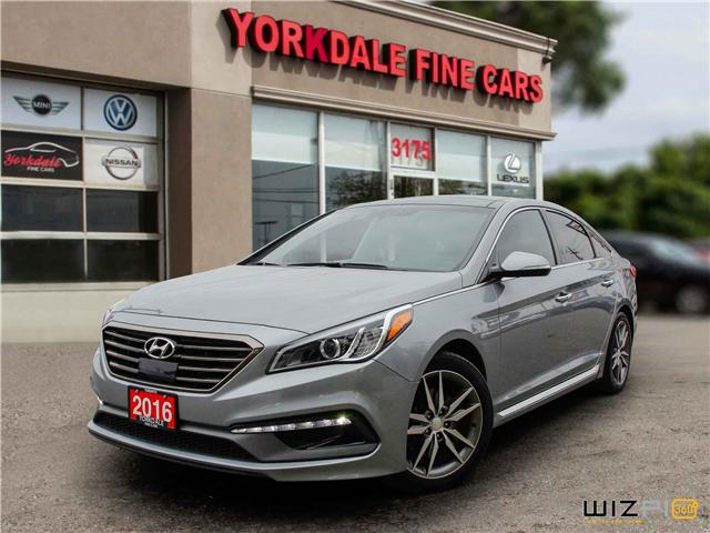 2016 Hyundai Sonata 2.0T Sport Ultimate (Stk: Y1 8869) in Toronto - Image 1 of 25