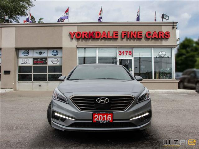 2016 Hyundai Sonata 2.0T Sport Ultimate (Stk: Y1 8869) in Toronto - Image 2 of 25
