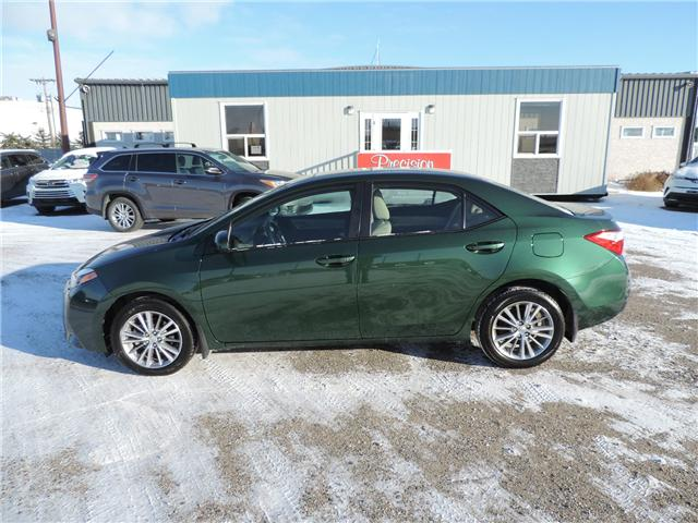 2015 Toyota Corolla LE (Stk: 190541) in Brandon - Image 1 of 19