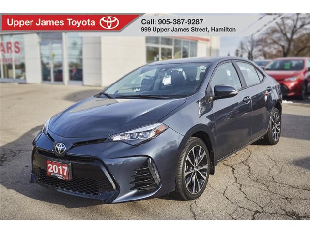 2017 Toyota Corolla SE (Stk: 75157) in Hamilton - Image 1 of 17