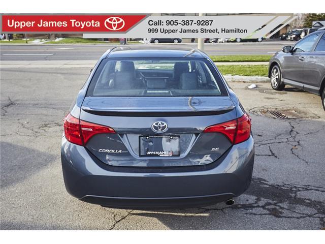 2017 Toyota Corolla SE (Stk: 75157) in Hamilton - Image 6 of 17
