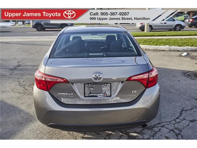 2017 Toyota Corolla LE (Stk: 75309) in Hamilton - Image 6 of 17