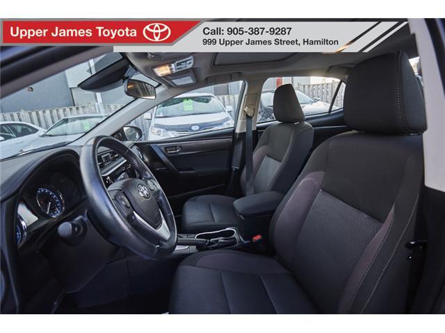 2017 Toyota Corolla LE (Stk: 75309) in Hamilton - Image 9 of 17
