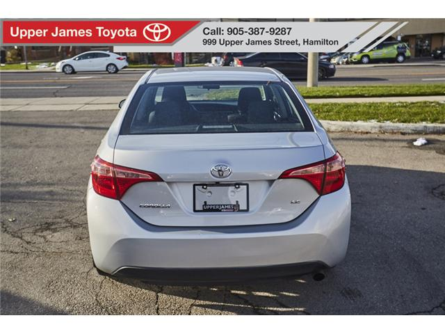 2017 Toyota Corolla LE (Stk: 75313) in Hamilton - Image 6 of 17
