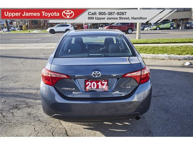 2017 Toyota Corolla LE (Stk: 75515) in Hamilton - Image 6 of 17