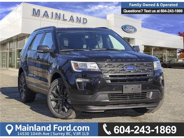 2019 Ford Explorer XLT (Stk: 9EX3855) in Surrey - Image 1 of 28