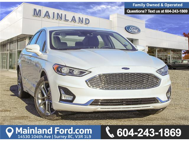 2019 Ford Fusion Hybrid Titanium (Stk: 9FU9462) in Surrey - Image 1 of 27