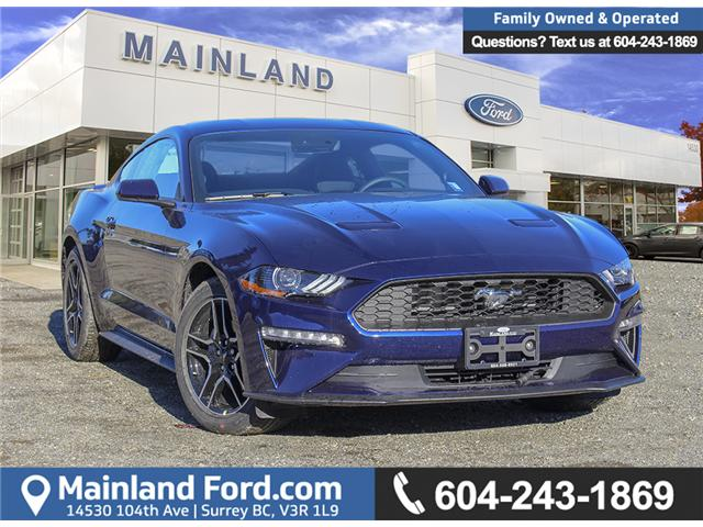 2019 Ford Mustang EcoBoost (Stk: 9MU6293) in Surrey - Image 1 of 27