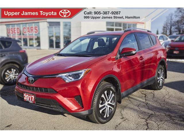 2017 Toyota RAV4 LE (Stk: 75417) in Hamilton - Image 1 of 16