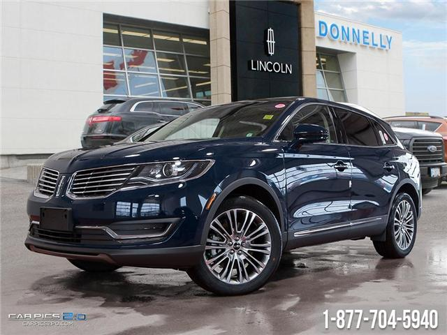 2018 Lincoln MKX Reserve (Stk: DR155) in Ottawa - Image 1 of 28