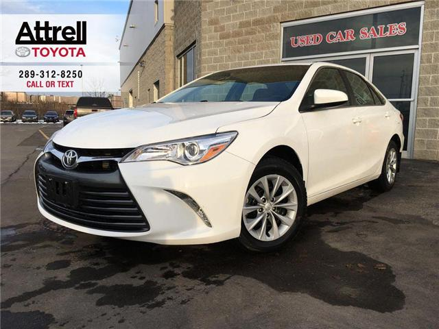 2017 Toyota Camry LE KEYLESS, BACKUP CAMERA, BLUETOOTH, ABS, CRUISE, (Stk: 8502) in Brampton - Image 1 of 26