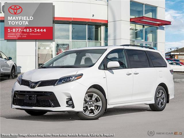 2019 Toyota Sienna Technology Package (Stk: 190426) in Edmonton - Image 1 of 24