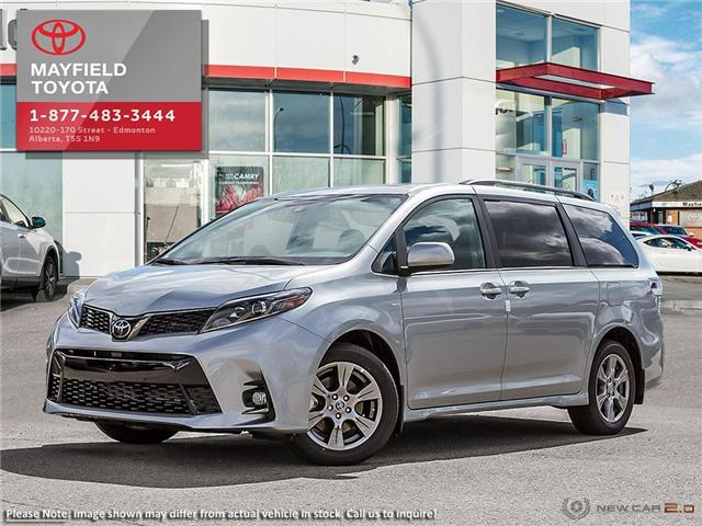 2019 Toyota Sienna Technology Package (Stk: 190428) in Edmonton - Image 1 of 24