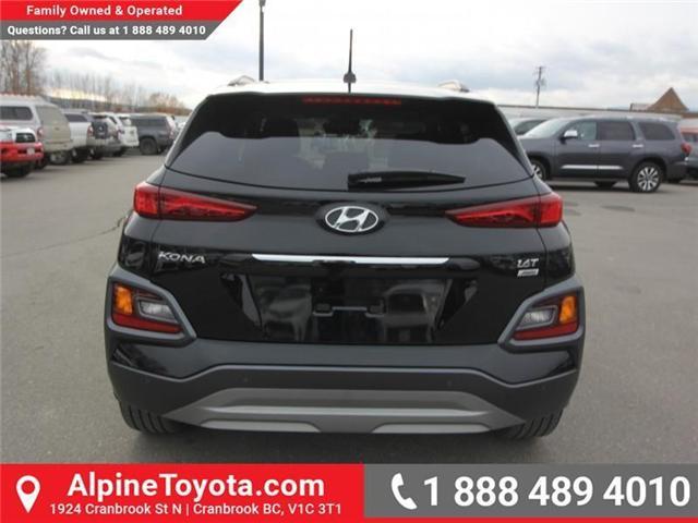 2018 Hyundai KONA 1.6T Ultimate (Stk: 5563822A) in Cranbrook - Image 4 of 19