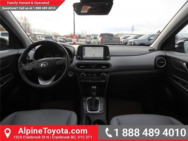 2018 Hyundai KONA 1.6T Ultimate (Stk: 5563822A) in Cranbrook - Image 10 of 19