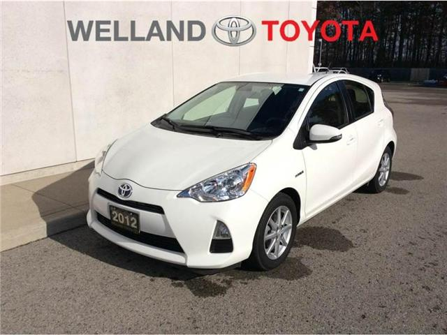 2012 Toyota Prius C Technology (Stk: pri5605a) in Welland - Image 1 of 23