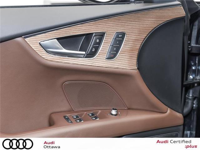 2017 Audi A7 3.0T Technik (Stk: PA457HT) in Ottawa - Image 12 of 22