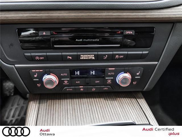 2017 Audi A7 3.0T Technik (Stk: PA457HT) in Ottawa - Image 20 of 22